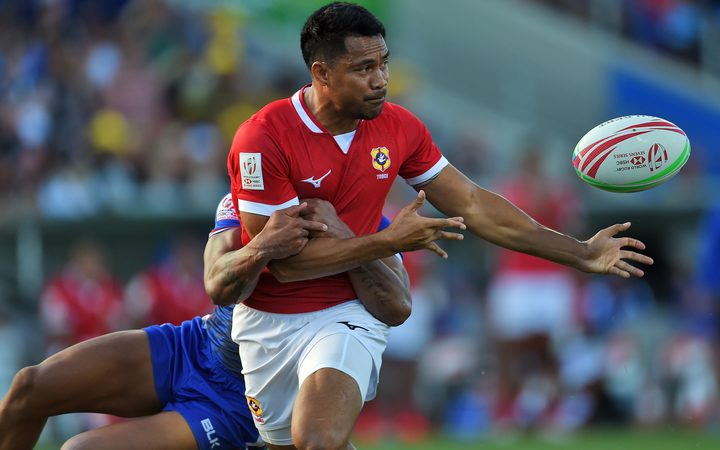 Tonga's Atieli Pakalani is the Kingdom's most experienced sevens player.