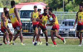 The PNG Hunters fine tune their preparations for the 2019 season.