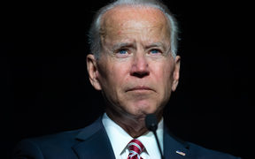 Former US vice president Joe Biden, who is leading polls for the Democratic presidential nomination.