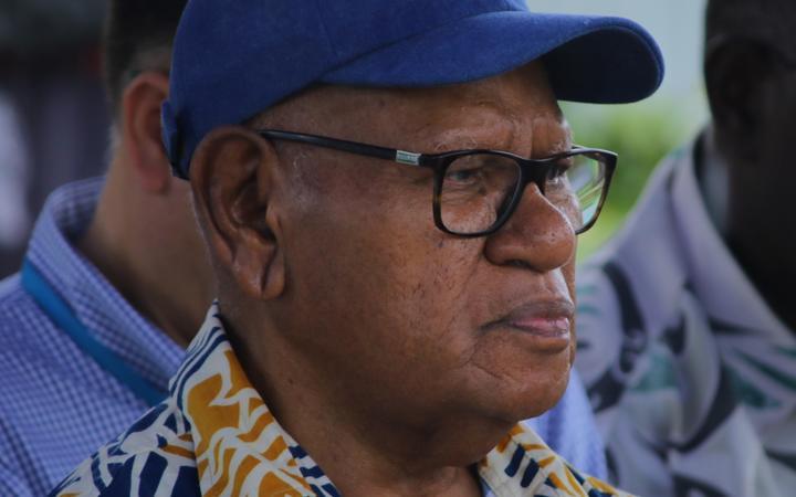 Bougainville President John Momis