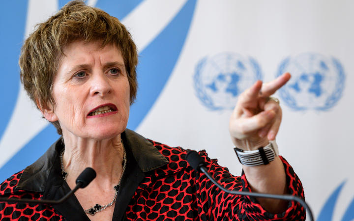 United Nations (UN) Deputy High Commissioner for Human Rights, Kate Gilmore