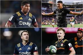 Waisake Naholo, Rieko Ioane, Ben Smith and Damian McKenzie will all be vying for the back three spots at the 2019 Rugby World Cup.