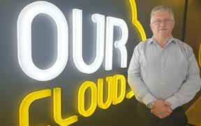 Our Cloud general manager Eddie Daly says when the firm chose the name Naki Cloud it did not know it could upset people.