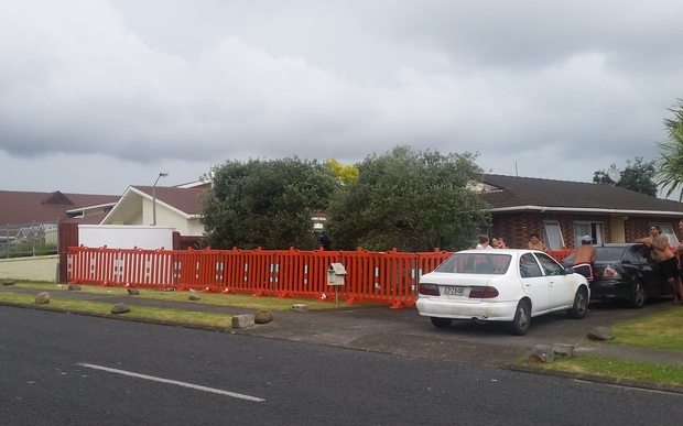 Neighbour Dawn Williams lives opposite the Yates Road Reserve, where a man opened fire on a large group, injuring three men, on Sunday morning.