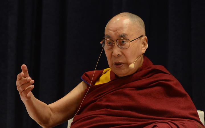 西藏精神领袖达赖喇嘛。