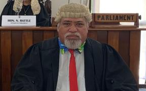 Tangata Vainerere, the clerk of the Cook Islands parliament.