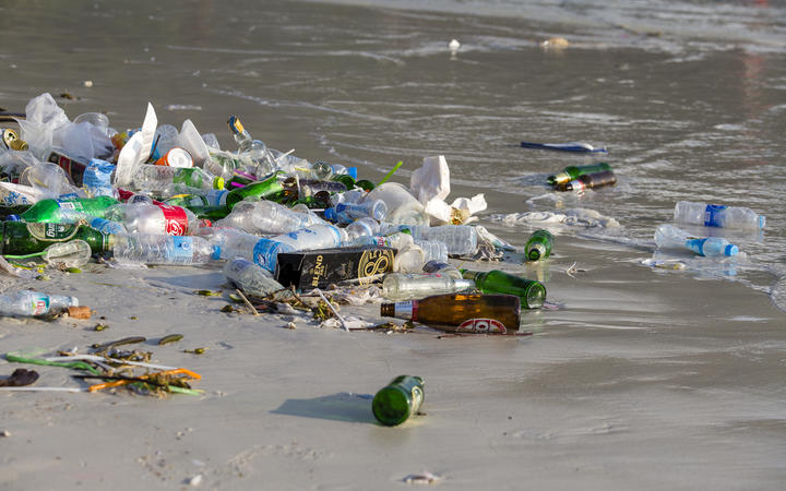 Tourists generate more trash in small island developing states - and 80% ends up in the ocean.