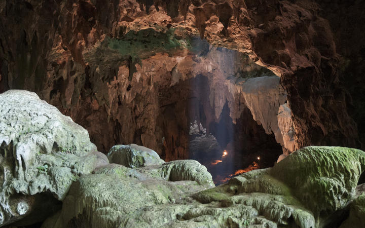 Callao Cave on Luzon Island of the Philippines, where the fossils of Homo luzonensis were discovered.