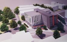 The design for the new Outpatients Clinic at Christchurch Hospital.