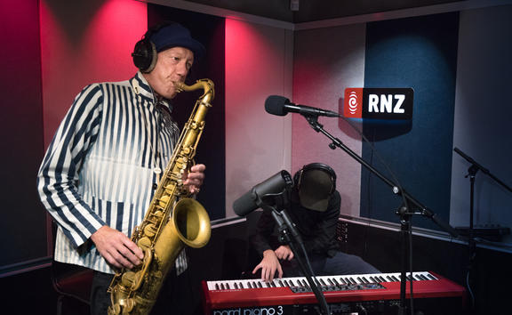 Nathan Haines at RNZ Auckland