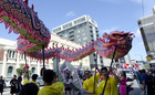 Celebrations for the Year of the Snake in February 2013 in Wellington