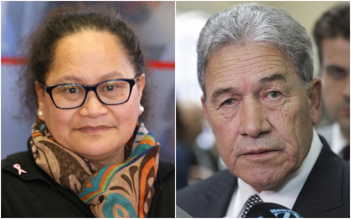 Missing New Zealand nurse Louisa Akavi and Foreign Affairs Minister Winston Peters.