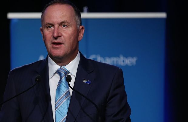 John Key confirms funding for Auckland's City Rail Link.
