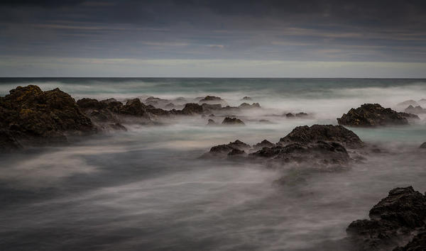 Owhiro Bay Long Exposure