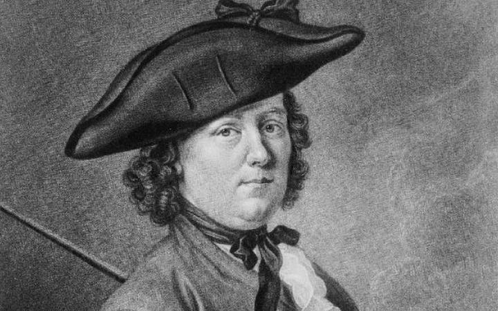 A portrait of Hannah Snell, circa 1750