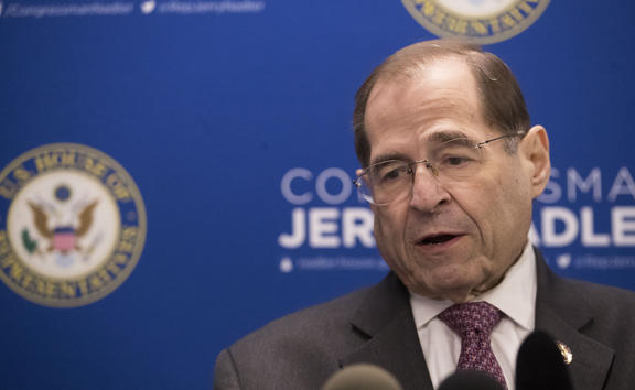 U.S. Rep. Jerrold Nadler, D-N.Y., chair of the House Judiciary Committee, speaks during a news conference,