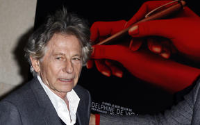 "FILE - In this Oct. 30, 2017 file photo director Roman Polanski poses a photo  prior to the screening of ""Based on a true story"" in Paris, France."