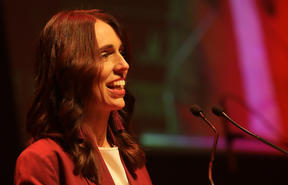PM Jacinda Ardern at the 2019 Taite Music Prize