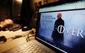 US President Donald Trump released a Game of Thrones-styled tweet after the release of the Mueller report at the weekend, claiming himself to be fully vindicated.