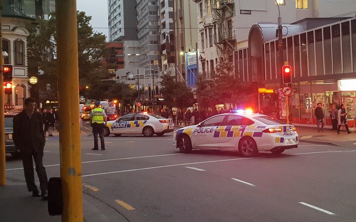 Wellington city street reopens after threat