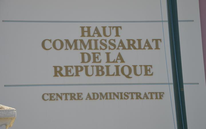 The French High Commission in New Caledonia.