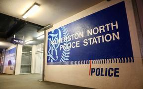 Palmerston North police station