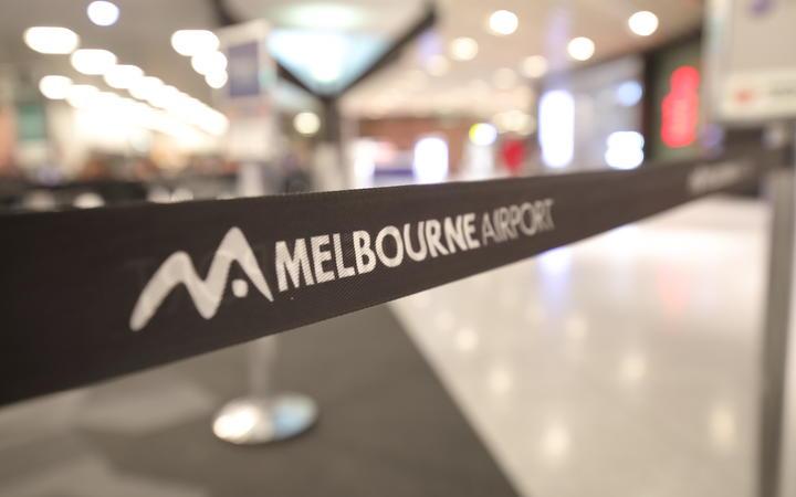 Melbourne Airport.