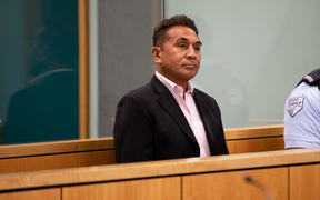 Former Auckland high school teacher Benjy Swann has appeared in the Auckland High Court and is accused of doing indecent acts on boys.