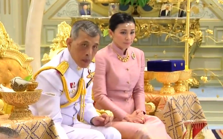 The wedding was broadcast on Thai TV.