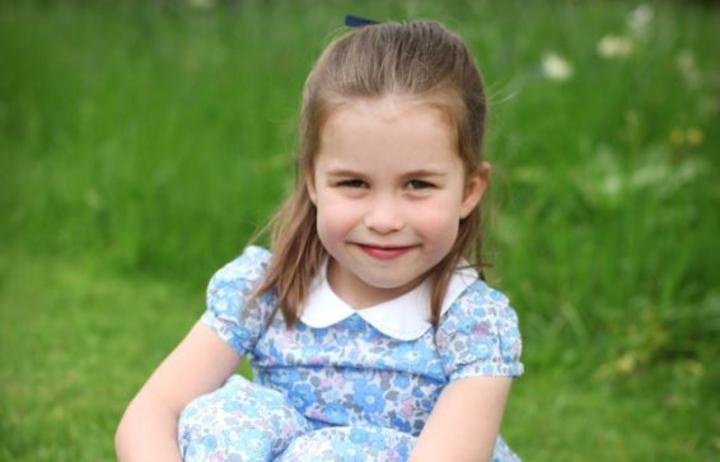 Princess Charlotte is the second child of the Duke and Duchess of Cambridge.