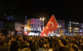 Thousands of supporters of Istanbul Mayor Ekrem Imamoglu protest the rerun of Istanbul election on May 06, 2019 in Istanbul, Turkey after Republican People's Party's (CHP) candidate Ekrem Imamoglu was apparently selected as mayor.