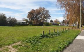 The site on Geddis Avenue in Maraenui, Napier where Housing New Zealand will build its first affordable homes in Hawke's Bay.