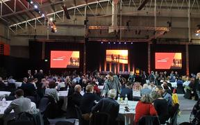 The Just Transition event in New Plymouth hosts more than 500 delegates.