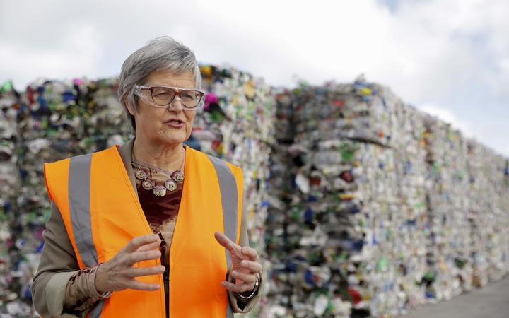 Associate Environment Minister Eugenie Sage says China's National Sword initiative had been a wake-up call that government needed to deal with waste in New Zealand.