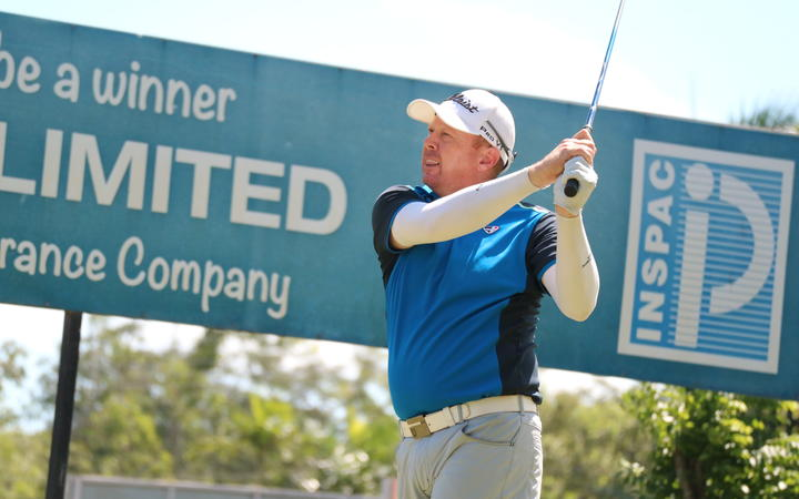 Australian golfer Steven Jeffress led the field at the halfway point in the 2019 Papua New Guinea Open.