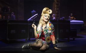 Adam Rennie as Hedwig in the musical Hedwig and the Angry Inch