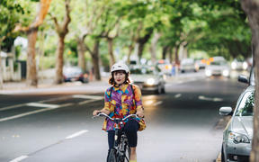 Cycling in Auckland
