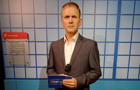 Jeremy Kyle - as a waxwork in Madame Tussauds, Blackpool. His show is under the microscope after being axed, following the death of a guest.
