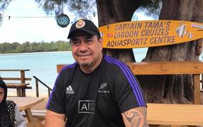 Cook Islands Democratic Party MP Tamaiva Tuavera