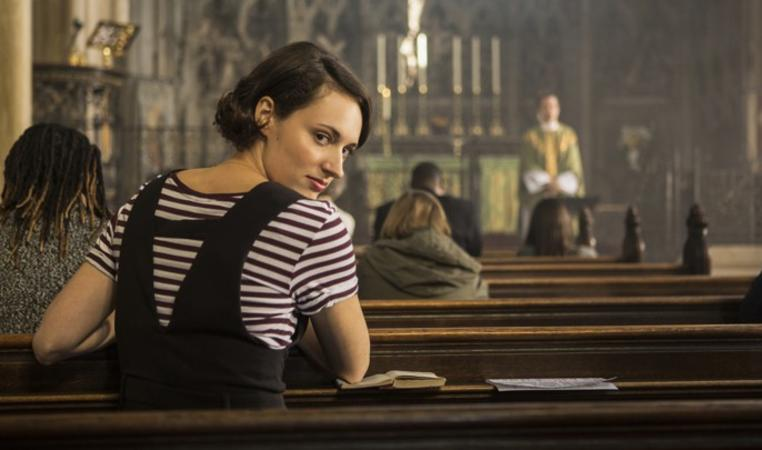 Phoebe Waller-Bridge in season two of Fleabag.