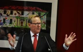 Former ABC staff-elected board member Quentin Dempster