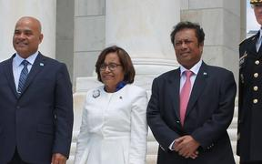 The Pacific delegation in Washington DC.
