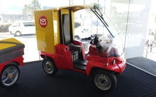 The Paxster - the new vehicle for posties, who will be expected to start picking up parcels from homes.