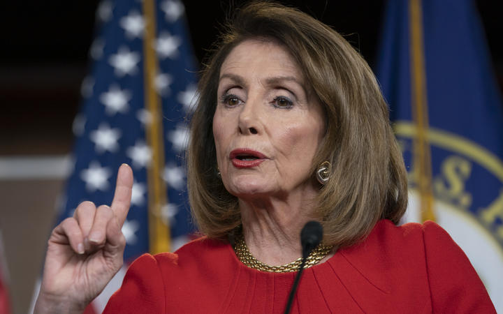 Pelosi talks health care, not Trump, in St. Paul visit