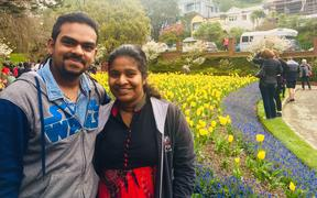 Dalisha Sebastian is stranded in India and can't return to NZ until she gets a visa for her newborn baby
