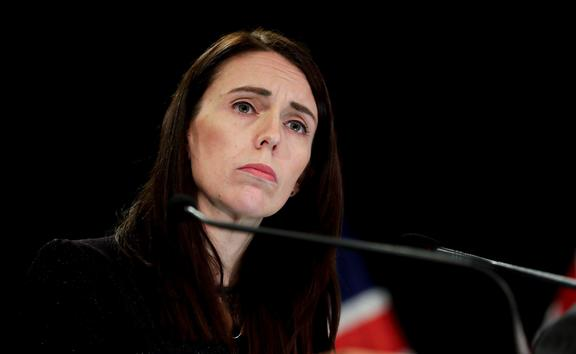 Prime Minister Jacinda Ardern speaking to media at Parliament 27 May 2019.