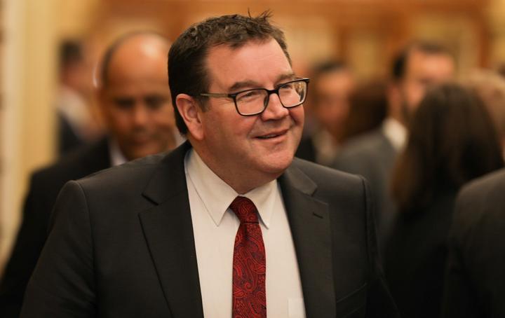 Grant Robertson at Parliament 21 May