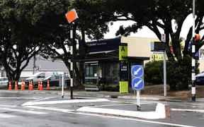 The Miramar bus hub in Wellington.