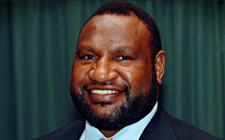 James Marape the member for Tari Pori is the new prime minister of Papua New Guinea. May 2019