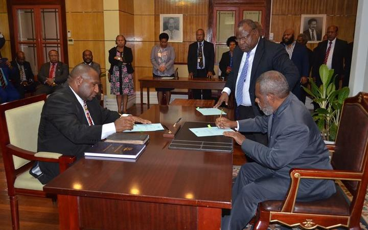 PNG parliament elects James Marape as new PM